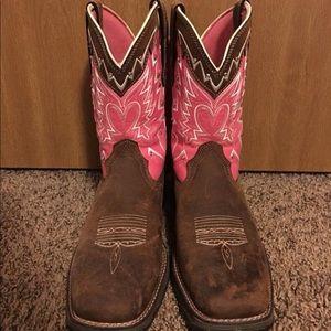 Durango Breast Cancer Awareness cowboy boot